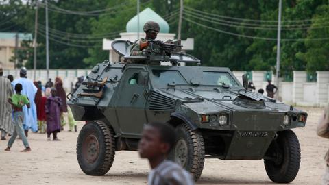 Two dead as militants target UN aid copter in Nigeria