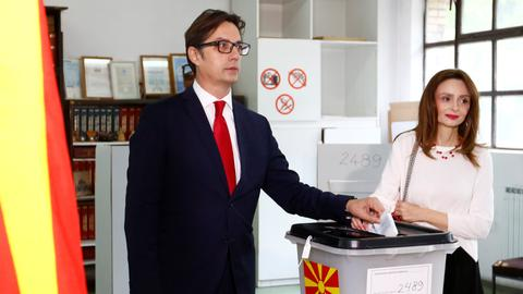 Government's candidate wins North Macedonia runoff