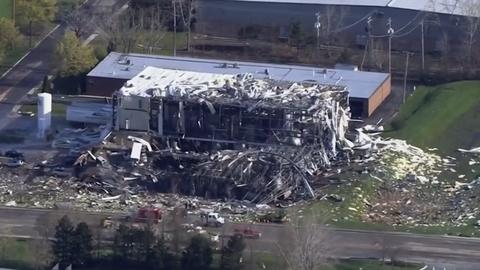 Death toll from Illinois plant explosion rises to three
