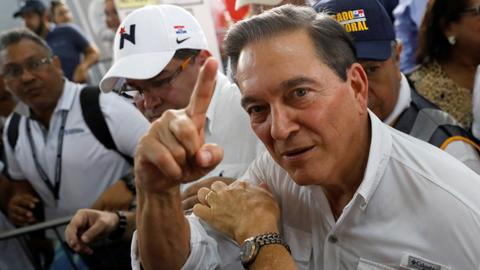 Cortizo declared winner of Panama presidential vote