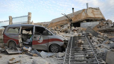 Syrian medical workers reel under regime bombardment in Idlib