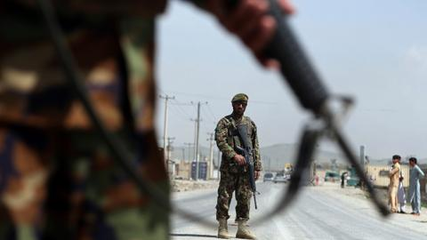 Taliban militants kill 20 Afghan troops