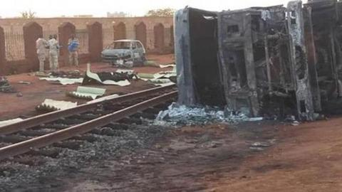 Tanker truck explosion kills at least 55 in Niger - ministry