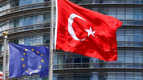 Turkey isn't part of European elections, yet remains central to campaigns