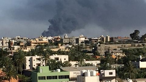 Haftar forces 'shoot down' Libya government's warplane