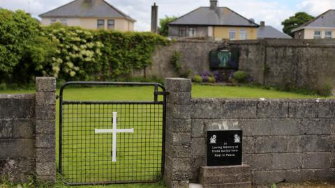 Mass grave of babies and children found at former orphanage in Ireland