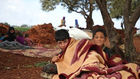 As the Syrian regime bombs Idlib, millions face a humanitarian disaster