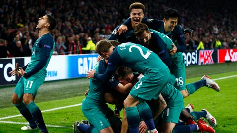 Tottenham stuns Ajax 3-2 to reach Champions League final