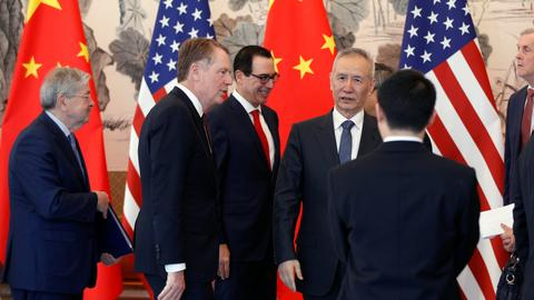 US, China wield threats going into high-stakes trade talks