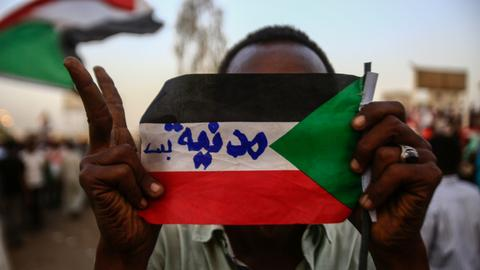 Who are the protesters leading Sudan's uprising?