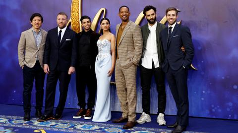 Will Smith brings own fun-loving Genie to new 'Aladdin'