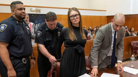 Fake heiress to spend up to 12 years in prison