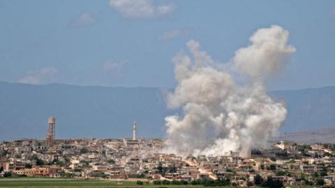 Turkey asks Russia to halt air strikes in Syria's Idlib