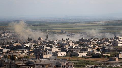 Regime air strikes kill at least 12 civilians in Syria's Idlib