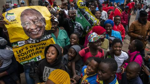 ANC to lead South Africa govt but with diminished majority