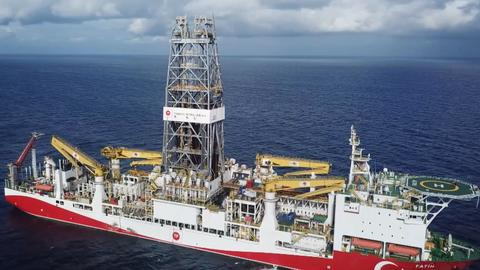 Turkish drillship to explore oil, gas near Cyprus