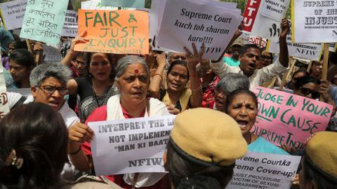 India's top judge versus his junior: A troubling case of sexual misconduct