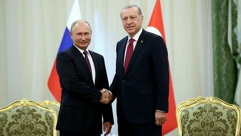 Erdogan, Putin discuss Idlib over phone