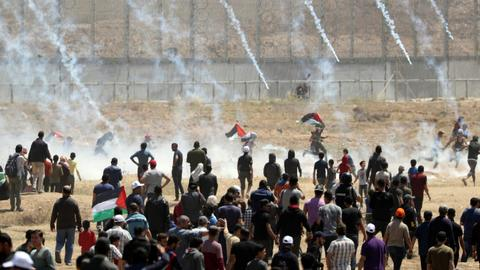 Israeli forces wound nearly 50 Palestinians during Nakba Day protests