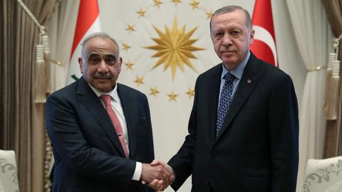 Turkey and Iraq mull military cooperation, trust agreement