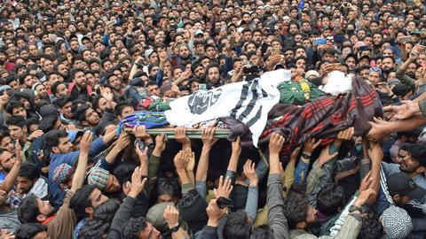 Fighting in disputed Kashmir leaves at least nine dead