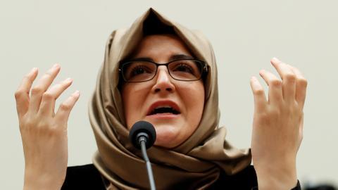 'World still has not done anything': Khashoggi's fiancee