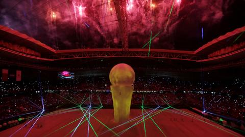 Qatar brings first new World Cup stadium to life as FIFA mulls expansion