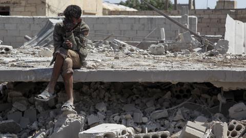 Russia air strikes kill 10 civilians in northwest Syria: monitor