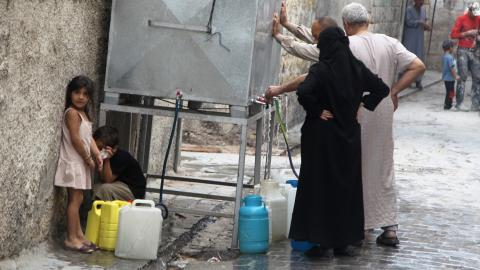 Syrian regime regains control of key Aleppo water station