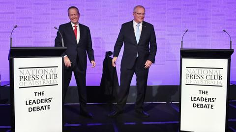 Polls open in tight Australia election