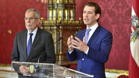 Austrian president calls for September snap elections