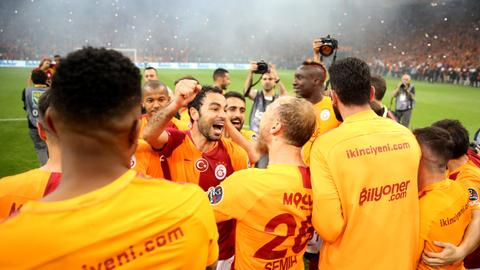 Galatasaray become champion in Turkish Super Lig
