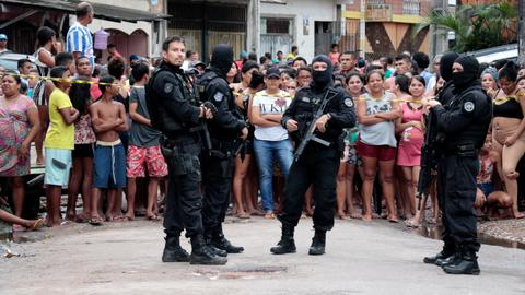 Gunmen kill at least 11 at bar in Brazil