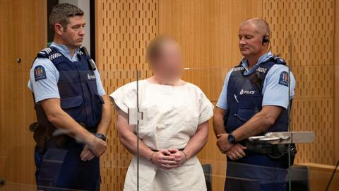 Christchurch terrorist pleads not guilty to all charges