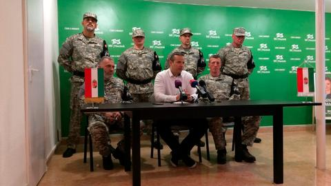 New Hungarian far-right party forms paramilitary unit