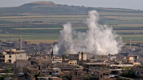 US suspects Syrian regime in new chemical attack