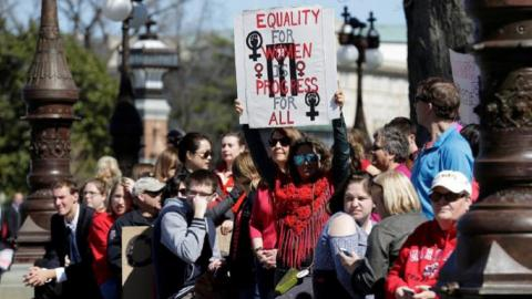 International Women's Day becomes a global day of activism