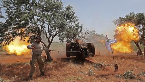 Civilians hopeful after Syrian rebels recapture territory from regime