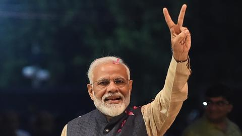 India's Modi stuns opposition with landslide win in election