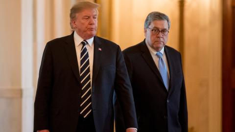 Trump orders intel agencies to assist Barr with review of Russia probe