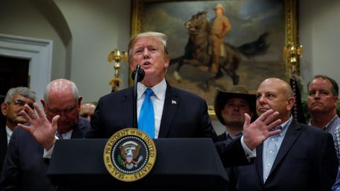 Trump considering loophole for Saudi arms sale