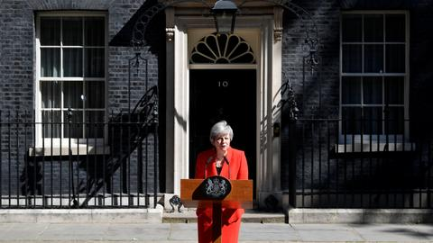 May to quit as Britain's PM on June 7