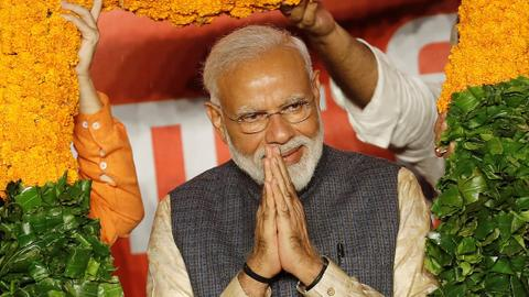 Modi's BJP wins landslide 303 seats in India election