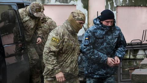 Free Ukrainian sailors 'immediately' – global tribunal to Russia