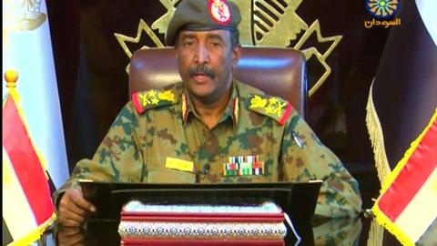 Sudan military chief meets Egypt's Sisi on first trip since ouster