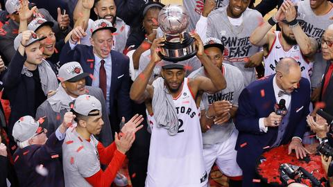Raptors beat Bucks to reach first NBA final