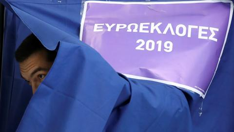 Greek prime minister calls for early election after EU loss