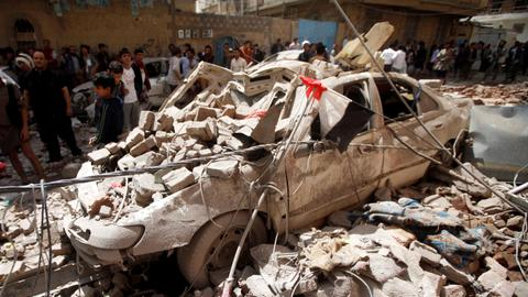 Saudi-led coalition kills seven children in Yemen attack - UNICEF