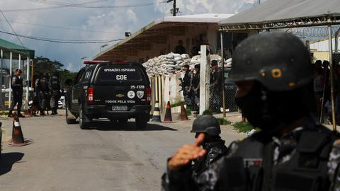 Fighting among inmates at Brazil prison kills at least 15 - officials