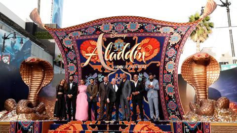 'Aladdin' takes flight with $105M in North America